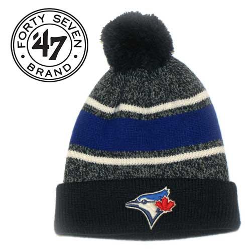 a72fc44ddb4 Toronto Blue Jays '47 Brand Fairfax Cuff Knit Toque - Framing Edge