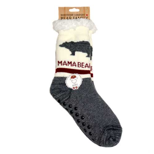 Bear Family Mama Bear Northern Comfort Adult Slipper