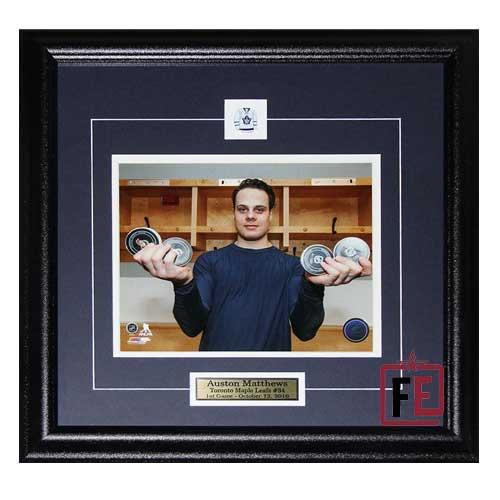 Auston Matthews Toronto Maple Leafs 4 Goal Game 8x10 Photo