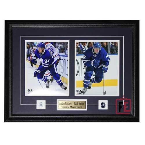 0dbe5ca44ff Auston Matthews & Mitch Marner The Future of Toronto Maple Leafs Frame