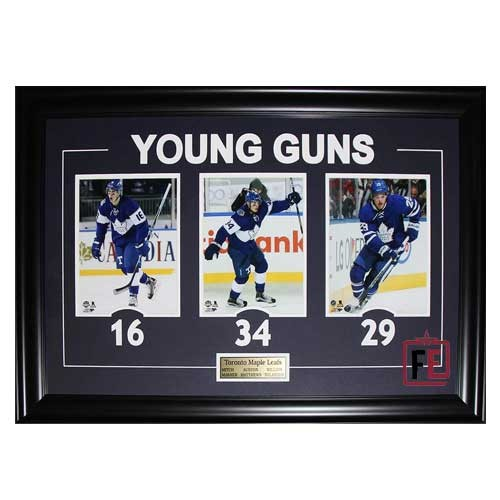 new style 2a5cc 192d9 Auston Matthews & Morgan Rielly Dual Autographed 11x14 Photo ...